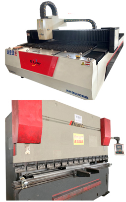 Image of Laser Cutter and CNC Bender New