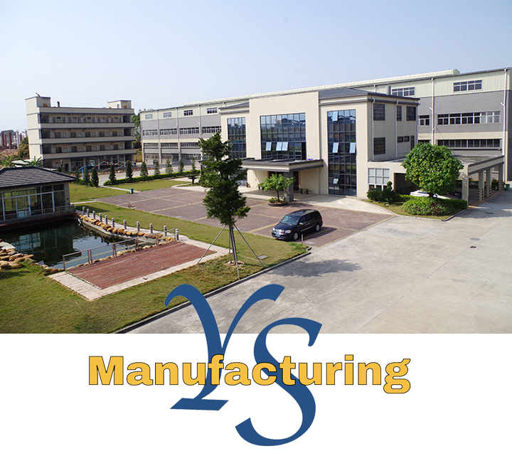 Image of YS Manufacturing Plant with Logo